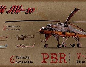 Mil Mi-10 3D asset