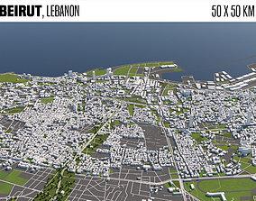 Beirut Lebanon 3D model arab