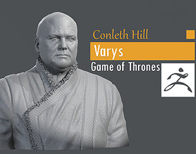 Conleth Hill - Varys - Game of Thrones 3D print model