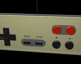 3D asset Low poly joystick 2