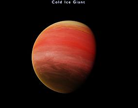 3D asset Alien planet model 7 - 16k photorealistic - 3
