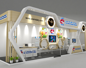 3D Exhibition Stand 14x3m