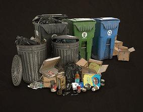 3D asset Urban Trash Pack Vol 2