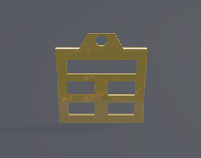 rgd gen trigram pendant mk3 3D printable model