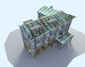 3D asset town house 2