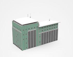 3D Multi-storey Industrial Building