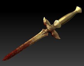 Dagger from the book Nibynoc 3D print model