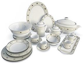 3D model Ceramic Dinnerware tureen