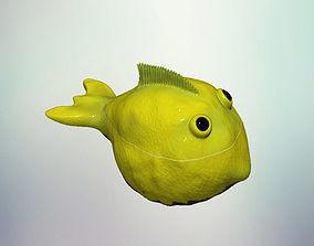 3D printable model Lemon fish