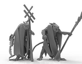 Cheese Stealer Cult - Warlocks 3D printable model