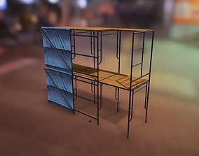 3D model Modular W-Style Scaffolding Pack