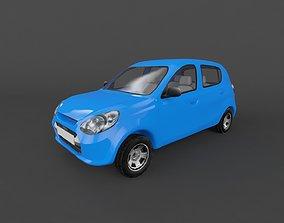 game-ready Suzuki Maruti Alto 800 2014 3D model