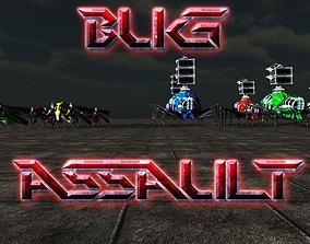 3D model Bug Assault Series