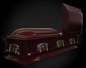High Def Classic Coffin Victorian 3D model