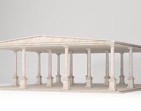 Antique Temple 3D model