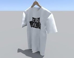 fashion-and-beauty T-shirt 3D model