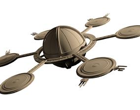 Star Trek - Star Base 1 3D Model 2009 Film