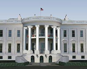 3D model The White House