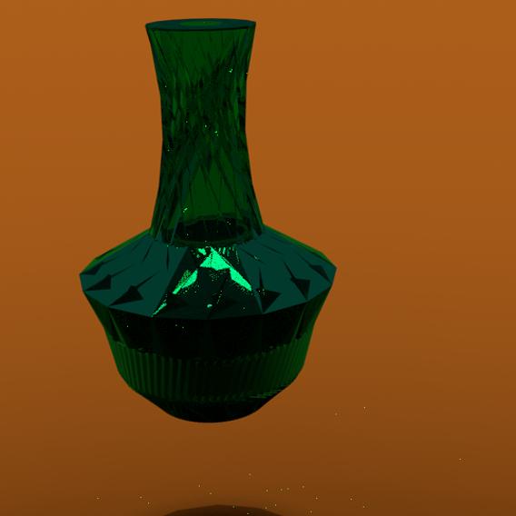 GLASS VASE|GLASS