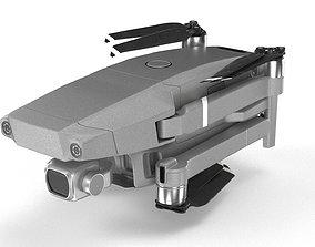 DJI Mavic Pro 2 3D model rigged