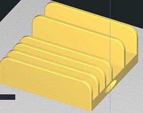 Desktop Multi Phone and Tablet Holder Dock 3D print model