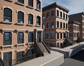 3D model UE4 - City Apartment Building Pack