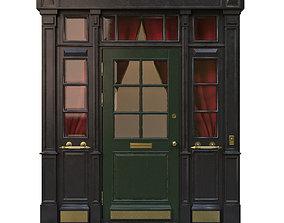 3D model Entrance classic door 11