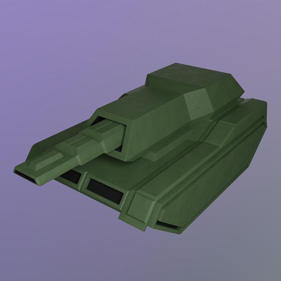plastic tank toy