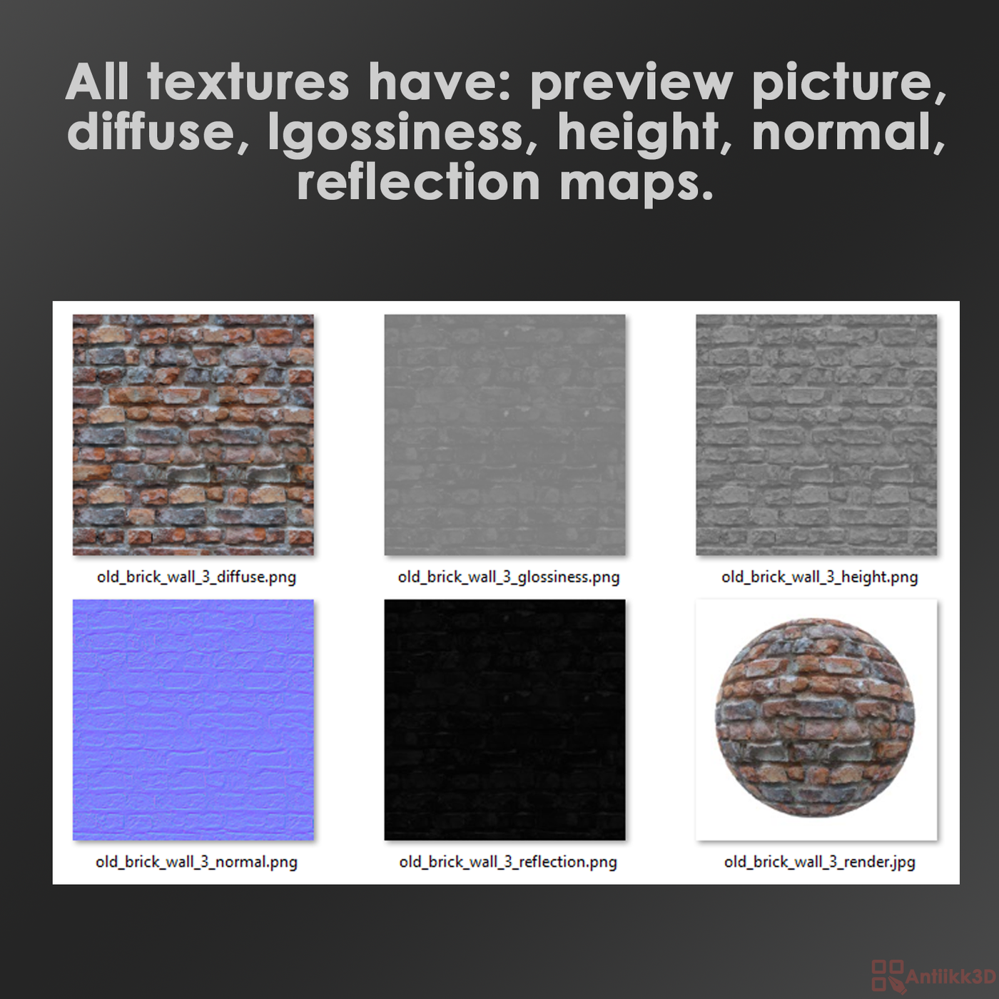 Texture pack brick and stone walls 35 sets