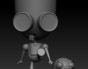 3D print model GIR Invasor Zim