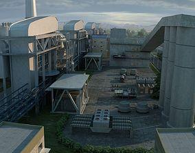 Power plant 1 3D model