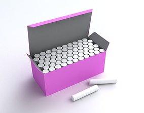 Chalk Box 3D model