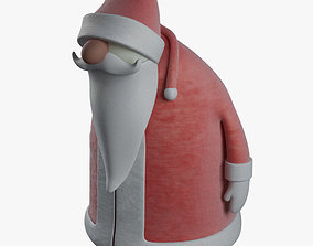 3D toon Santa Claus