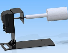 tumbler rotisserie 3D print model