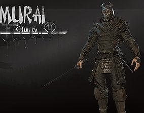3D model Samurai remastered 2