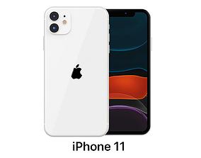 3D model Apple iPhone 11 White