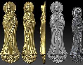 St Maria basrelief 3D printable model