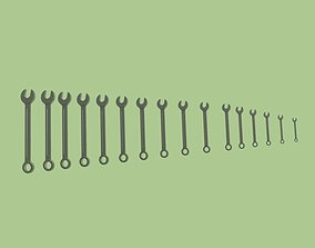 3D model ring-set spanners printable