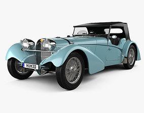 Bugatti 57SC Sports Tourer 1937 cabrio 3D