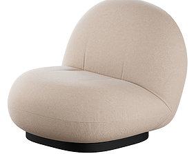 3D Pacha Lounge Chair by GUBI