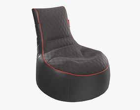 Bean bag chair 3D model PBR