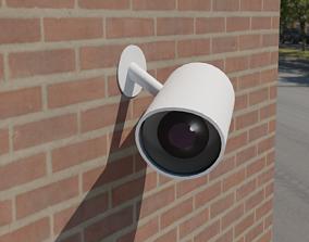 CCTV Camera minimal 3D model