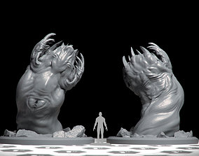 Giant Worm - DnD Monsters - 3D printable