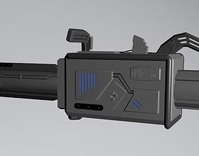 CW The Flash Season 3 - Speed Force Bazooka 3D model
