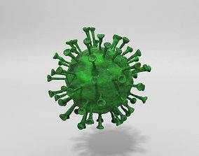 3D model Coronavirus-COVID-19