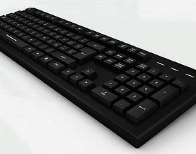 PC Keyboard 3D model