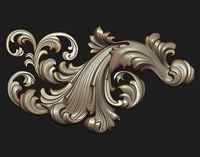 Carved decor 09 3D model