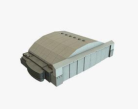 KATL Hangar 5 Closed 3D asset