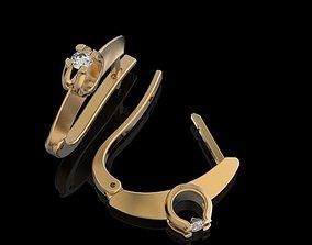 Stylish Earrings 3D print model