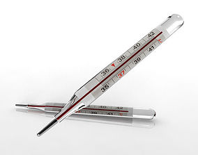Thermometer 3D asset